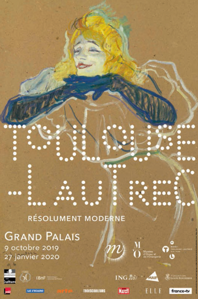 Toulouse-Lautrec, un trait résolument moderne, au Grand Palais