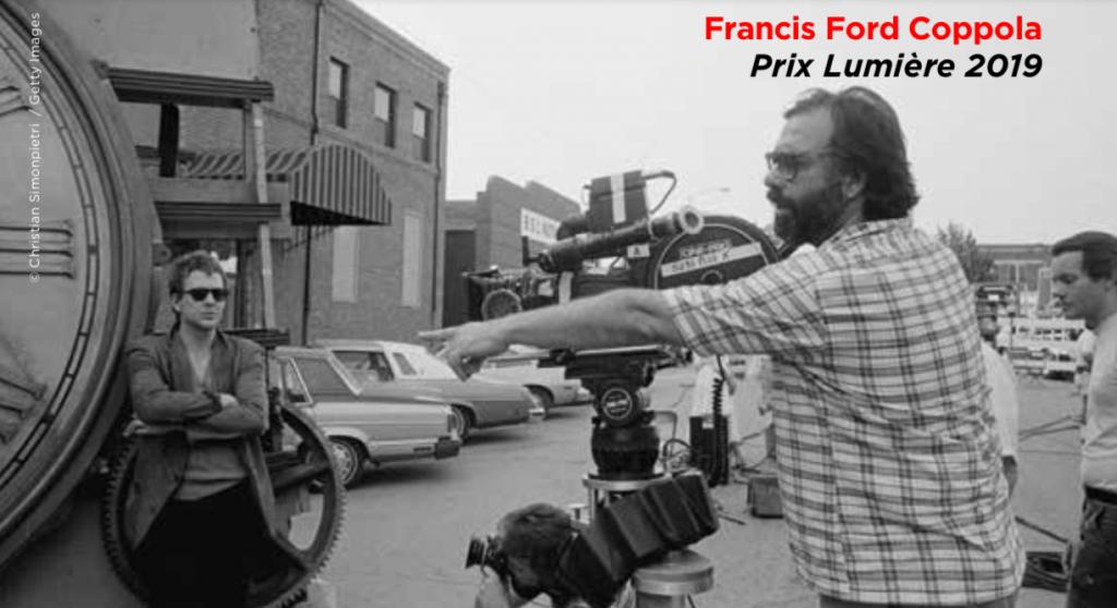 Une conversation avec Francis Ford Coppola, prix Lumière 2019