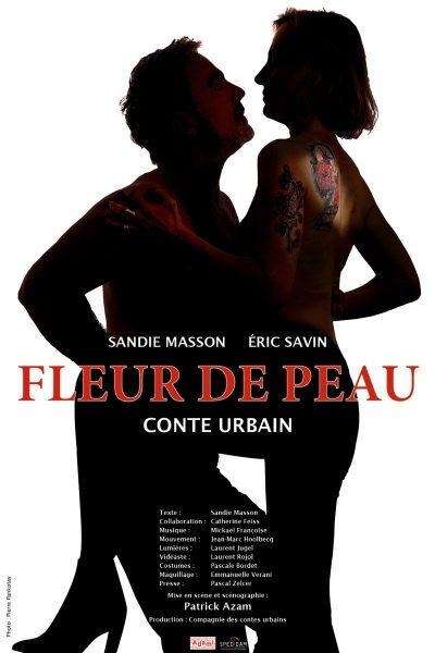 Fleur de peau- conte urbain de Sandie Masson à l'Essaion, l'inusable mystére de l'amour