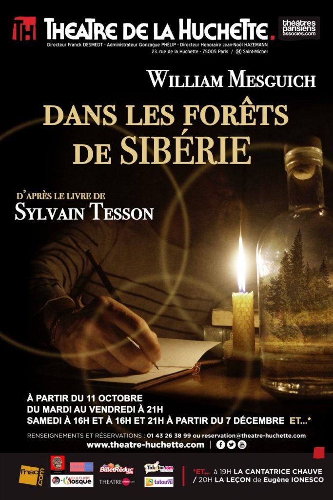 Dans les forêts de Sibérie, le choc de deux titans : William Mesguich et Sylvain Tesson