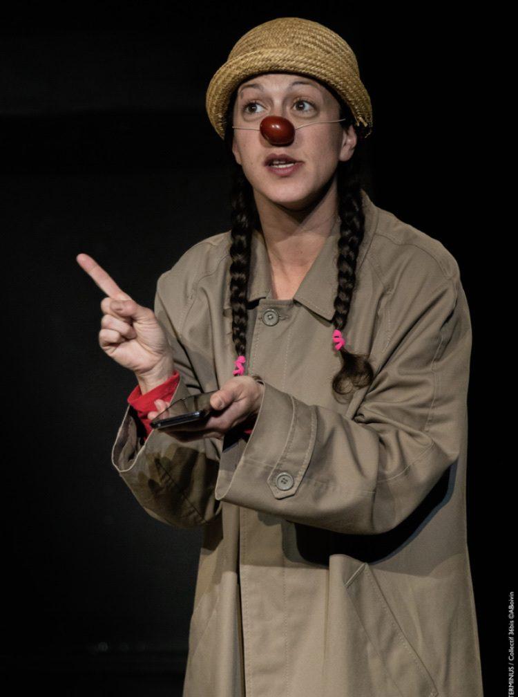 Terminus, un seul en scène coloré et burlesque rempli d'amour, de poésie et de confettis au Théâtre La Flèche