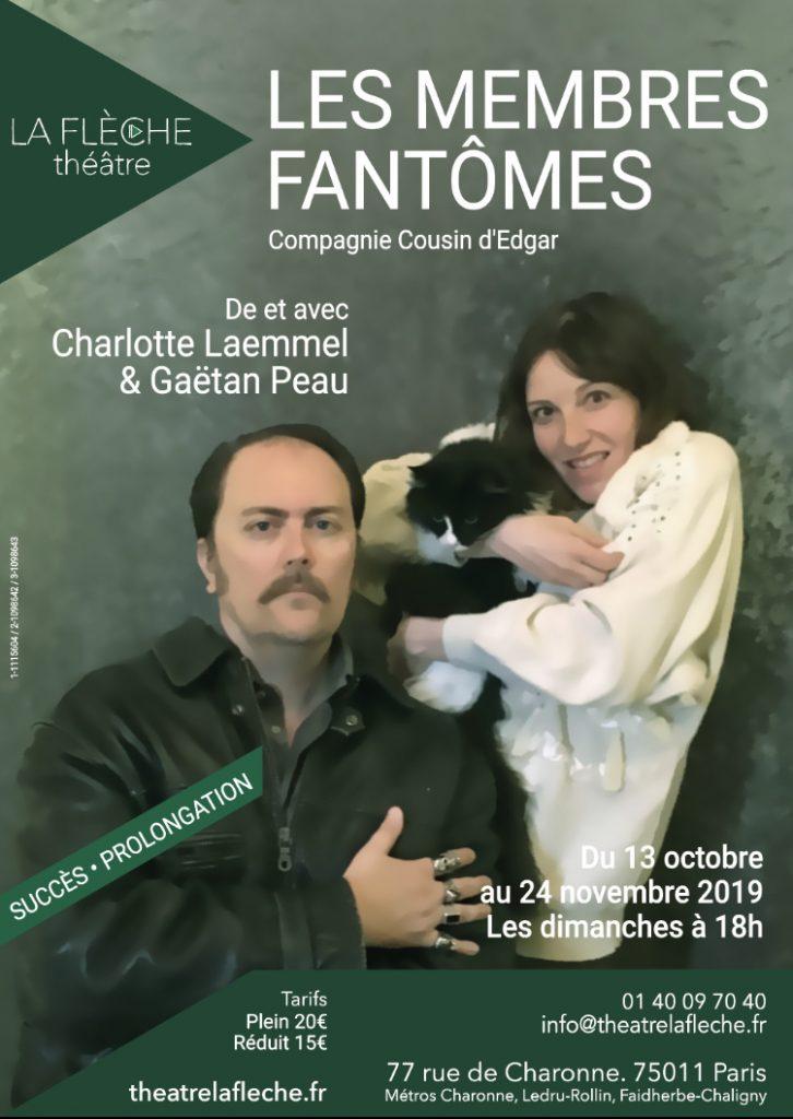 Un duo fraternel incomparable dans Les membres fantômes, au Théâtre La Flèche