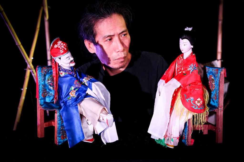 «The Puppet Showman», spectacle de marionnettes des Francophonies 2019 !