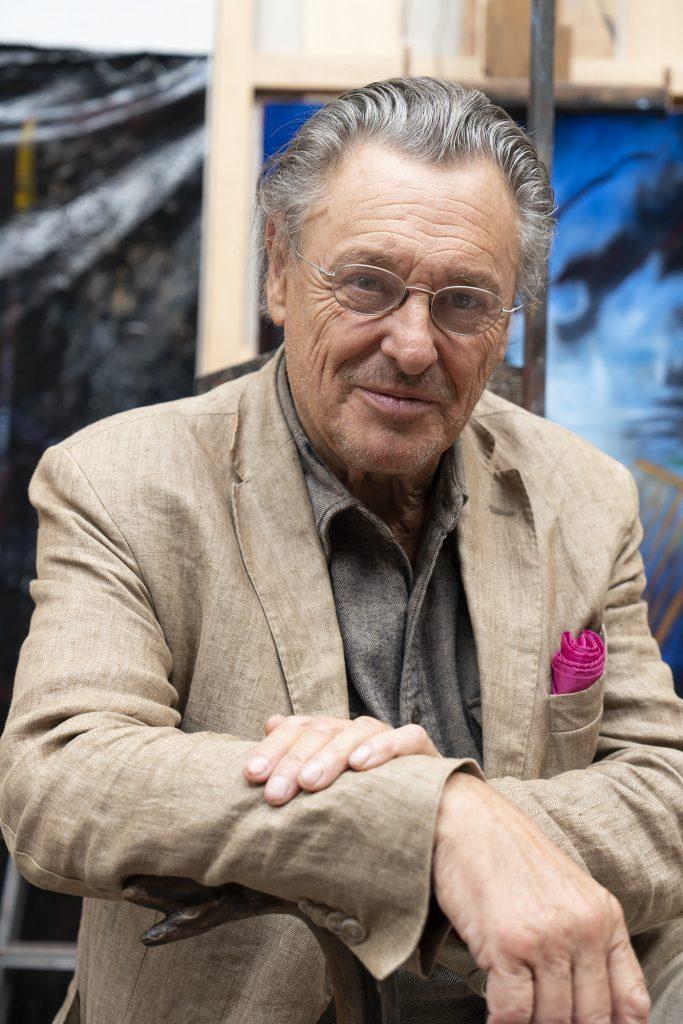 Gérard Garouste se dessine une place aux Beaux-Arts
