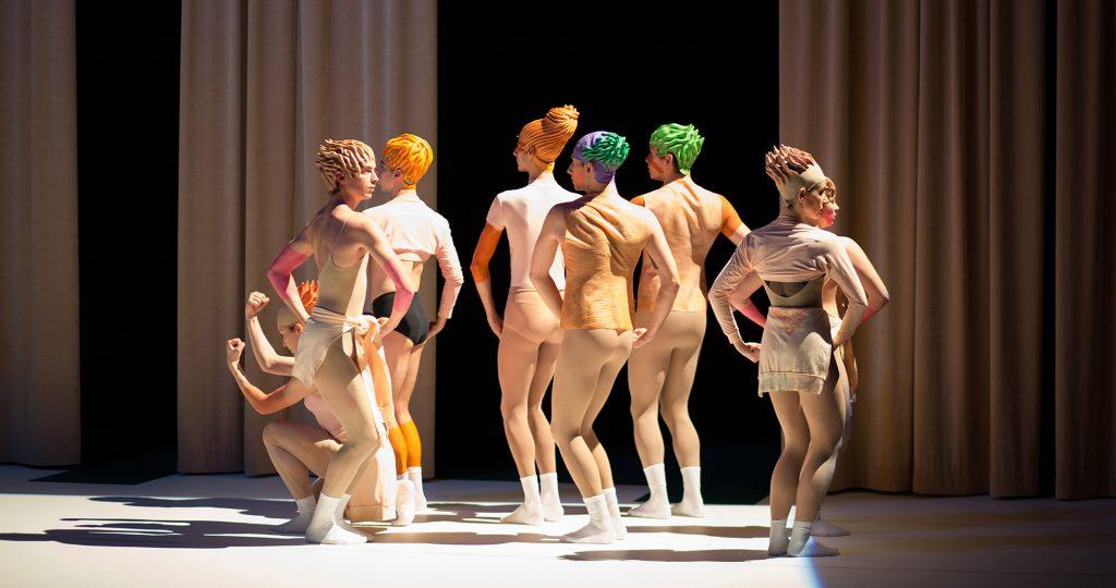 Chiquenaudes & Romance en Stuc, Daniel Larrieu nous offre la danse des années 80 sur un plateau