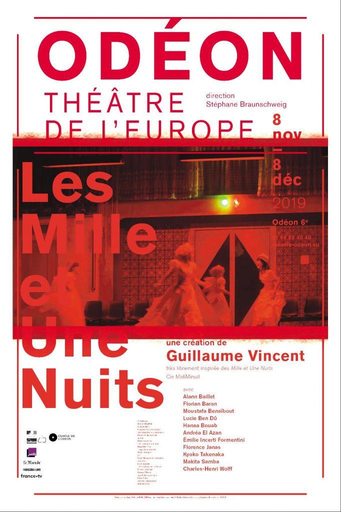Les Mille et Une Nuits une création ringarde de Guillaume Vincent à L'Odéon, théâtre de l'Europe.