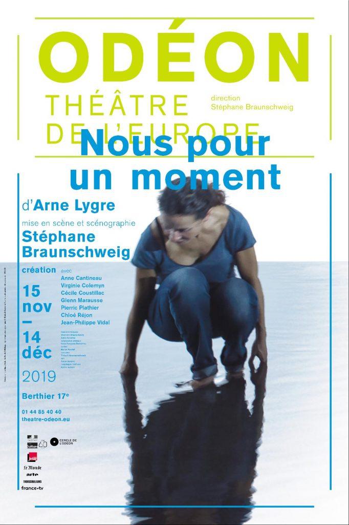 «Nous pour un moment» à l'Odéon Atelier Berthier, une belle forme pour un fond dense.