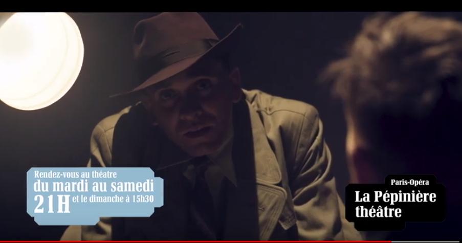 Vidéo : La souricière est au Théâtre de la Pépinière !