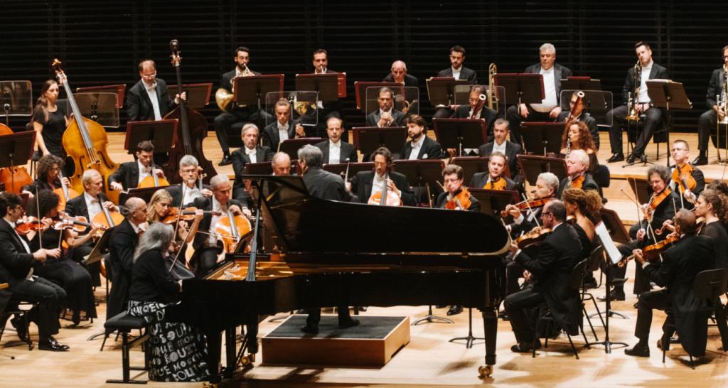 Martha Argerich et Sir Antonio Pappano à la Philharmonie !