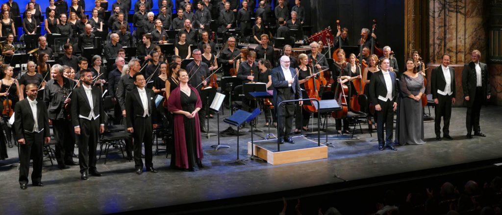 Avec Les puritains, le bel canto à la perfection à Marseille.