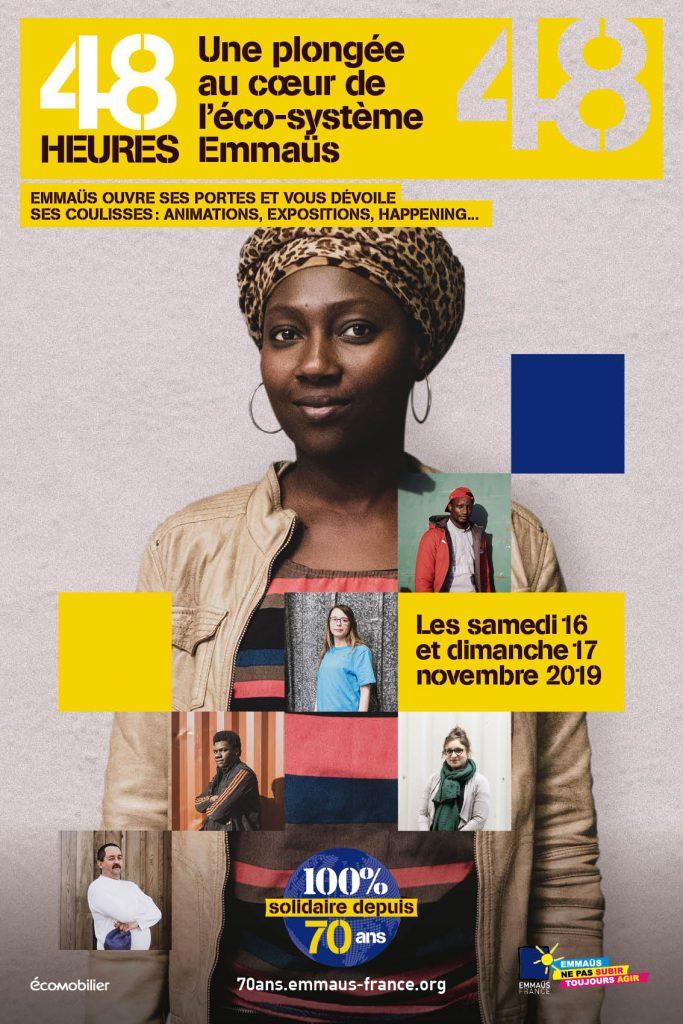 Emmaüs fête ses 70 ans pendant 48h en novembre dans toute la France