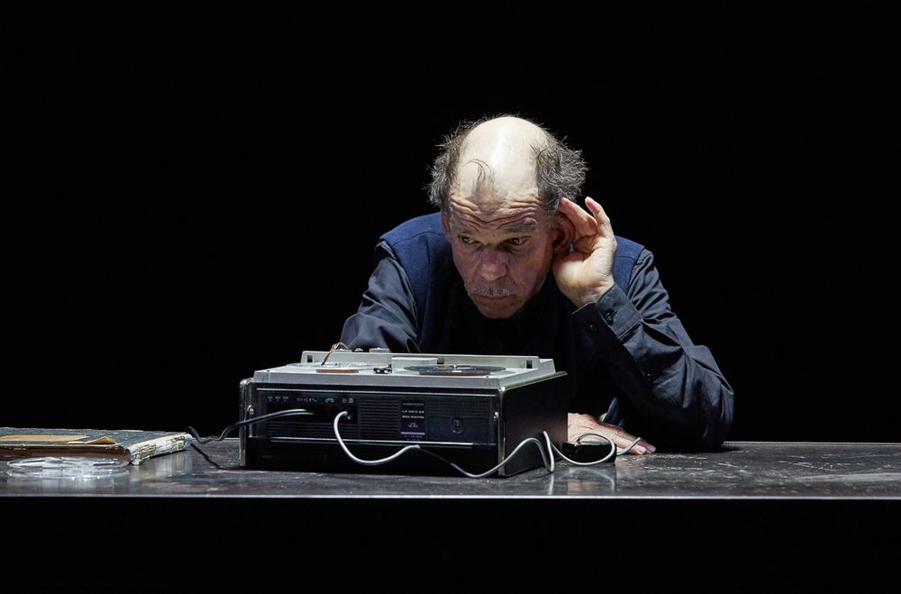 Denis Lavant dans «La Dernière Bande» de Beckett à l'Athénée Louis Jouvet
