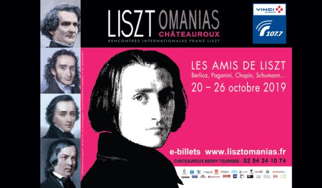 Lisztomanias à Châteauroux, grand rendez-vous entre Liszt et ses amis