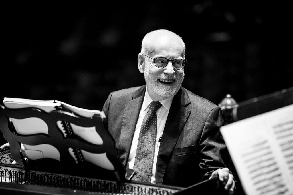 Ton Koopman, anniversaire, mandoline et clavecin à l'Orchestre national de Lyon