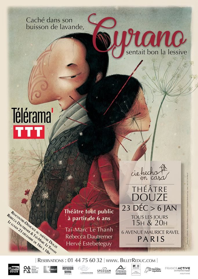 «Caché dans son buisson de lavande, Cyrano sentait bon la lessive», une histoire incroyable