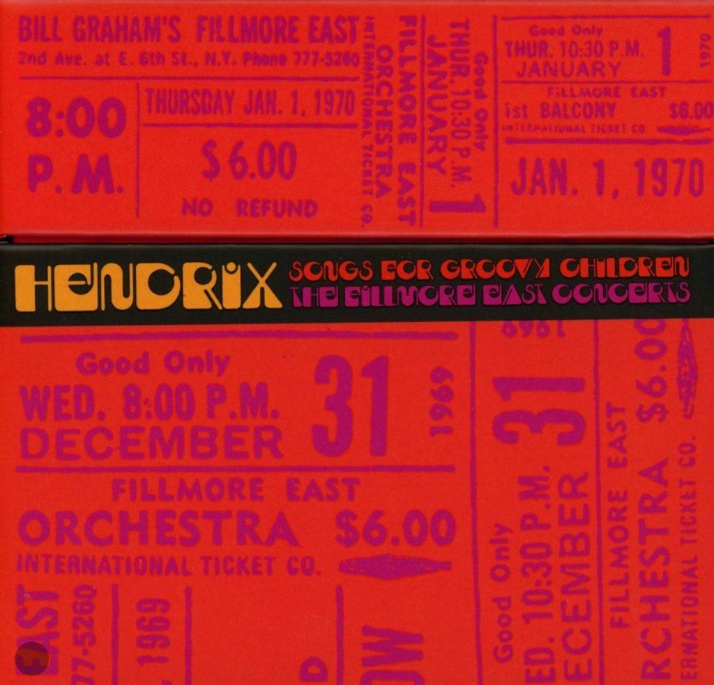 Stone Free, La Totale, Live At The Filmore : Merry Christmas & HappyHendrix !