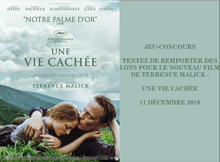 Gagnez 4X2 places pour le film « Une vie cachée » de Terrence Malick
