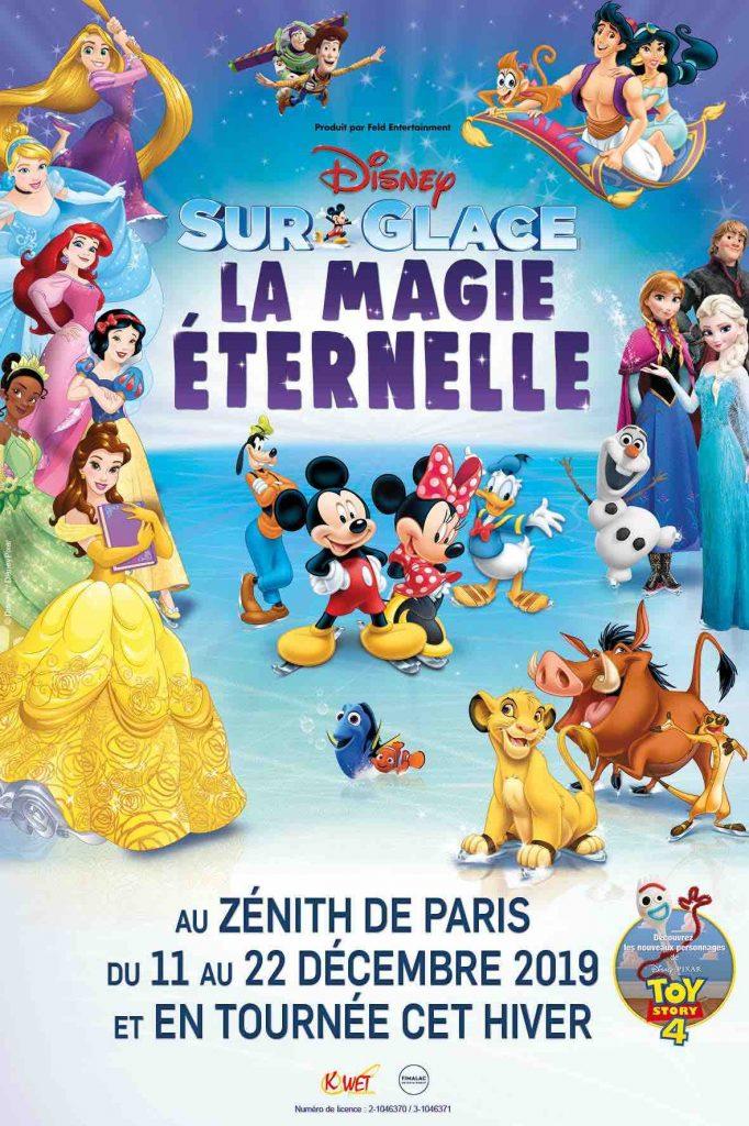 «Disney sur glace: la magie éternelle», un spectacle familial et transgénérationnel