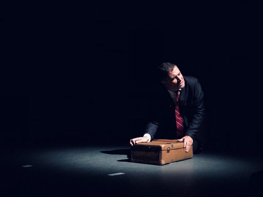 «Tempête en juin», au théâtre La Bruyère avec l'excellent Franck Desmedt