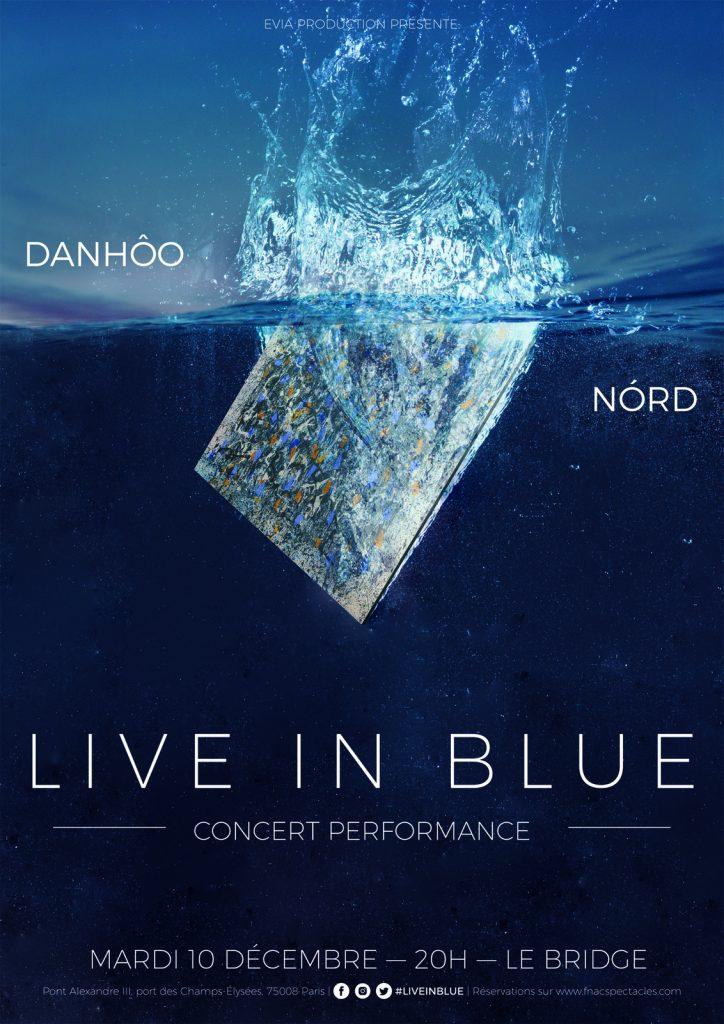 Stéphane Grangier nous parle du concert Live in Blue, le 10 décembre au Bridge