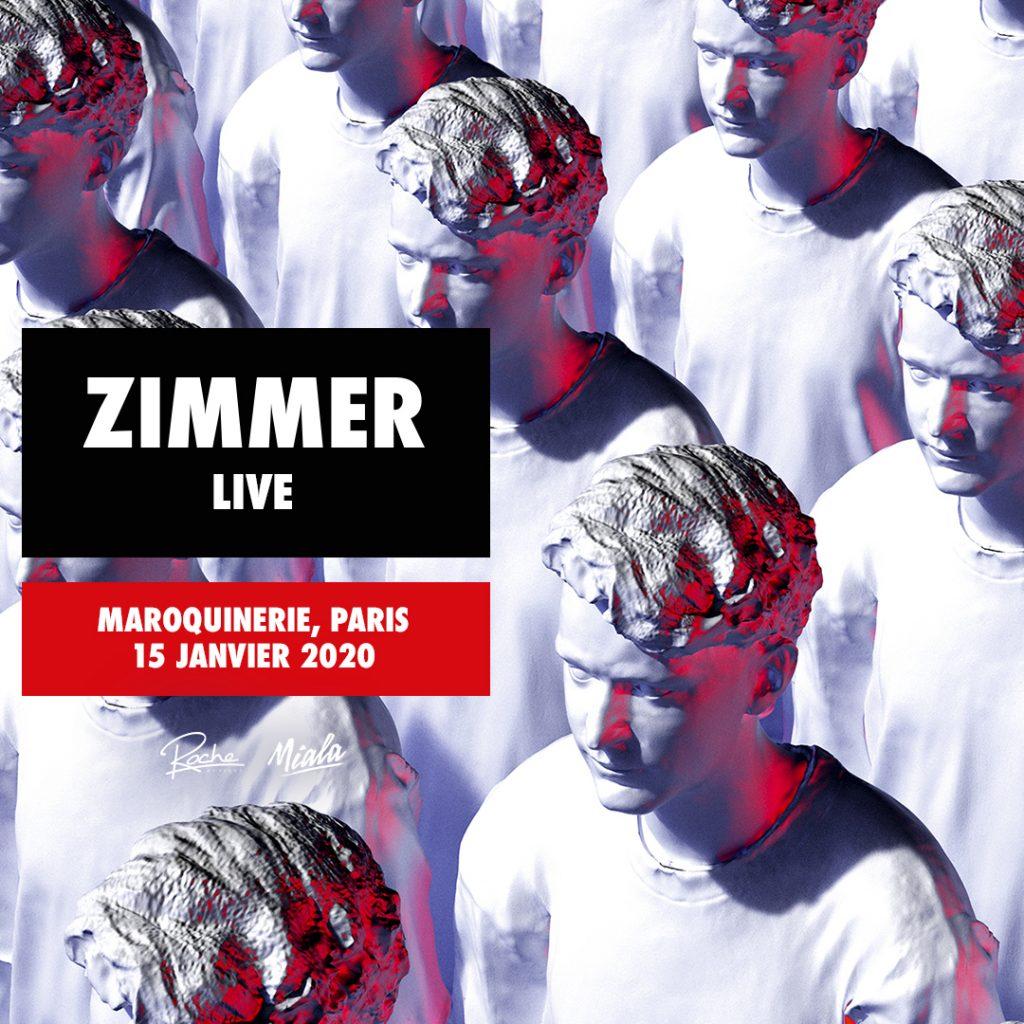 Zimmer sera à la Maroquinerie le 15 janvier prochain ! [Jeu-Concours – Gagnez 5×2 places]