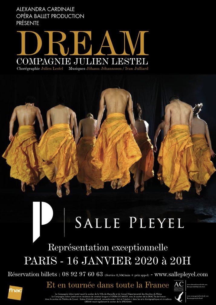 Interview de Julien Lestel et Alexandra Cardinale pour la présentation en avant-première de « Dream », un spectacle onirique polysensoriel.