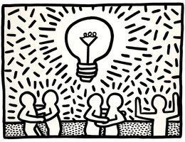 Une rétrospective Keith Haring colorée et engagée au Bozar de Bruxelles