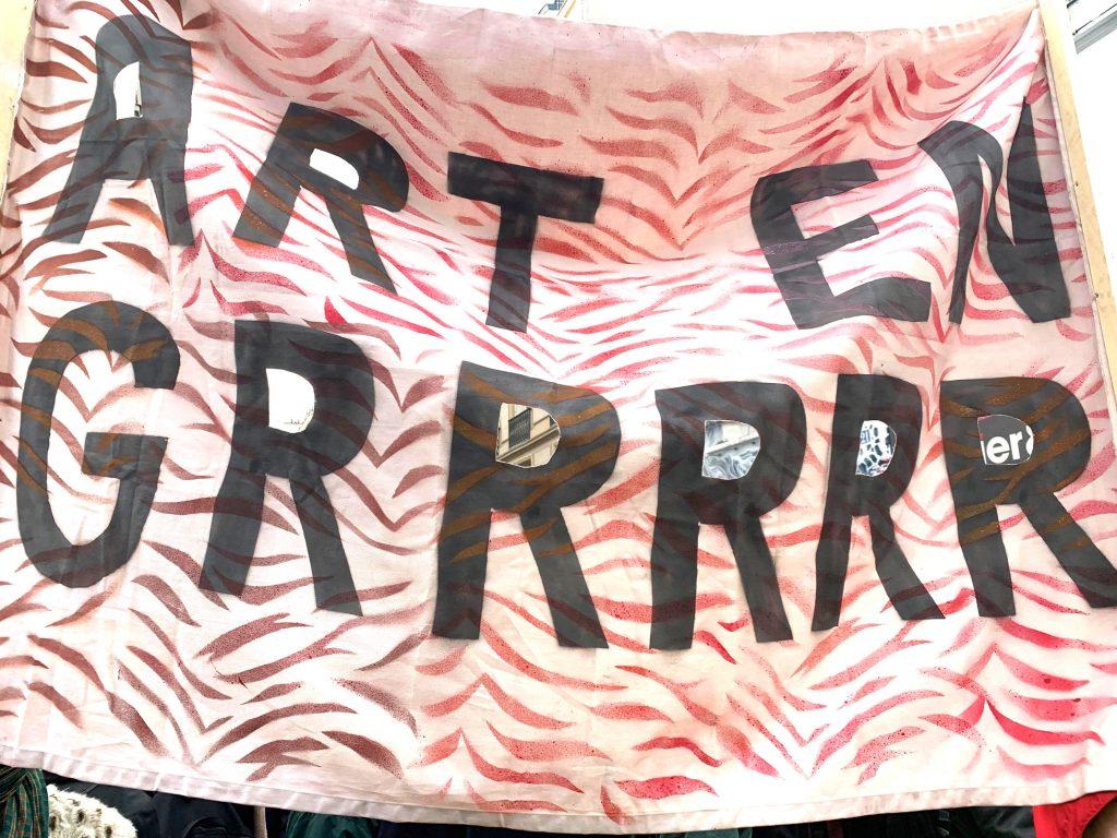 La suite de la mobilisation des artistes en grève
