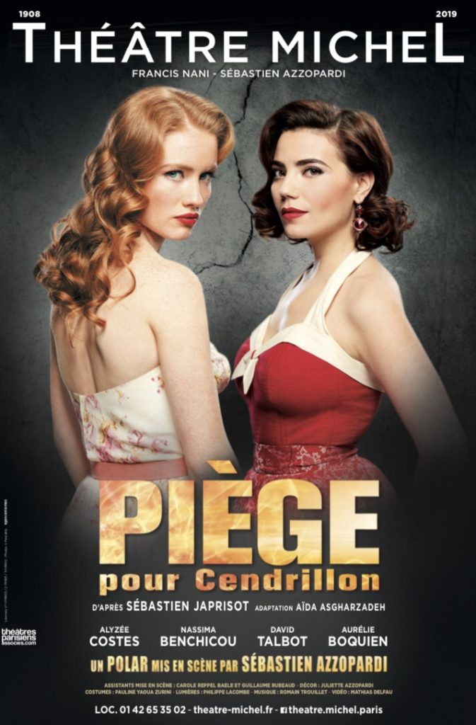 Piège pour Cendrillon, un thriller captivant au Théâtre Michel