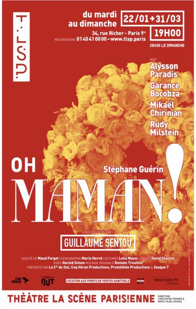 «Oh maman!», la nouvelle comédie dramatique de Stéphane Guérin, à la Scène Parisienne
