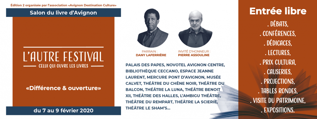 Dany Laferrière au sujet de l'Autre Festival à Avignon : «Etre parrain permet de rester proche de ce qui se fait»
