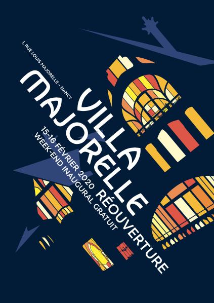 A Nancy, réouverture de la Villa Majorelle, le week-end du 15-16 février