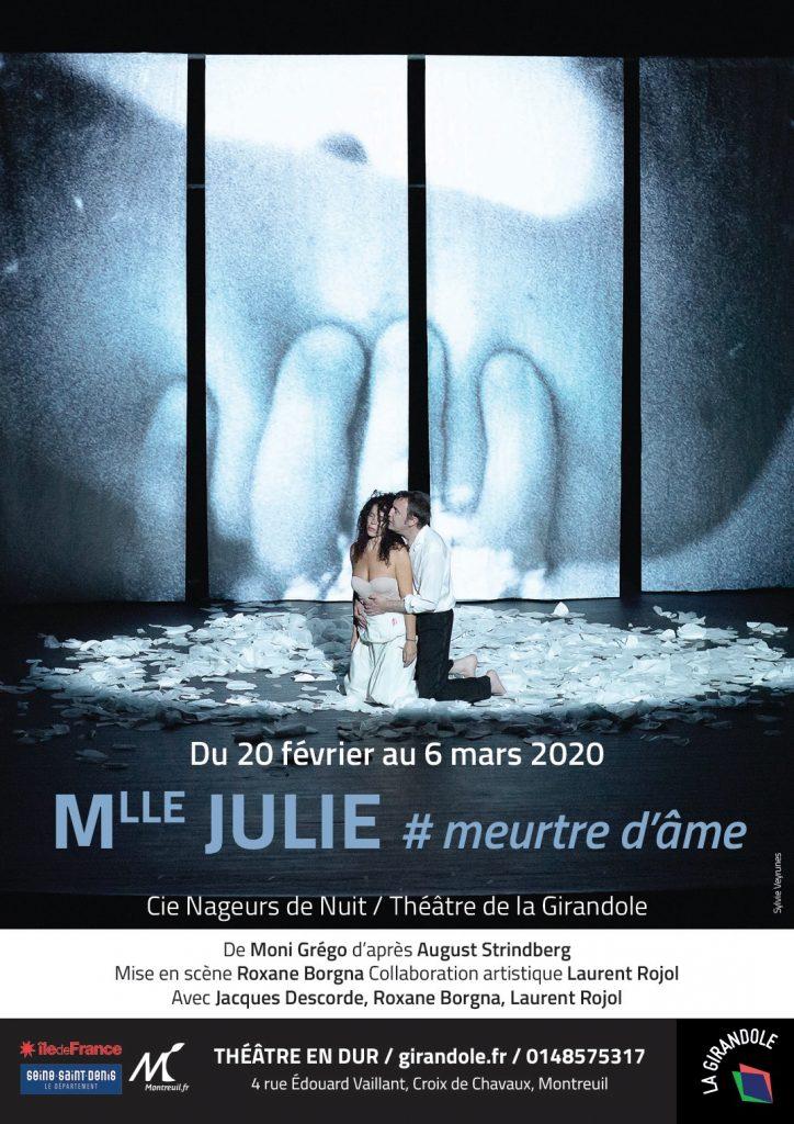 Une adaptation fine et belle de Mlle Julie au Girandole