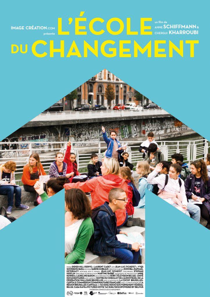 L'école du changement de Anne Schiffmann et Chergui Kharroubi : Apprendre pour être libre !