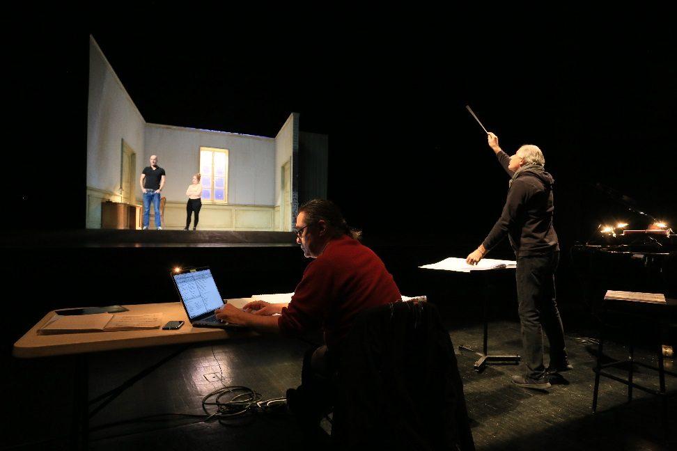 L'Opéra de Dijon se prepare à mettre en scène «Les châtiments» de Brice Pauset