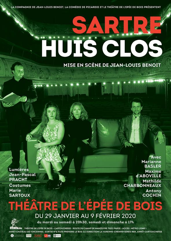 Un «Huis Clos» de Sartre actualisé par Jean-Louis Benoit