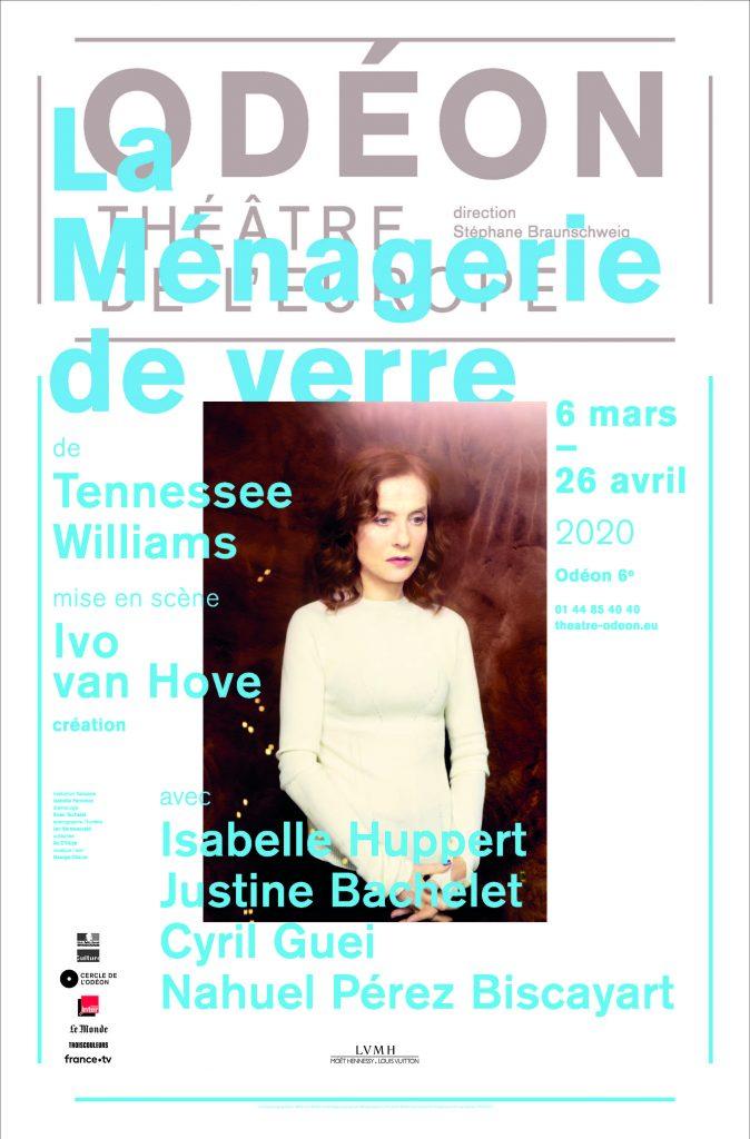 La Ménagerie de verre de Tennessee Williams à l'Odéon, Isabelle Huppert au coeur d'un gâchis