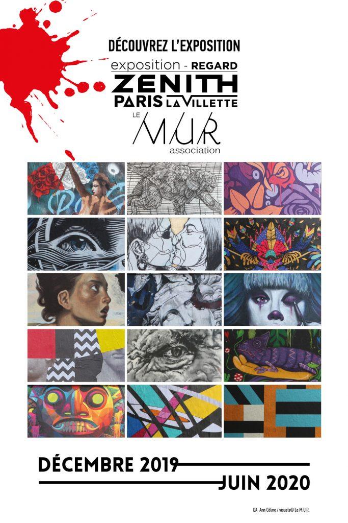 Le M.U.R s'expose au Zénith Paris-La Villette