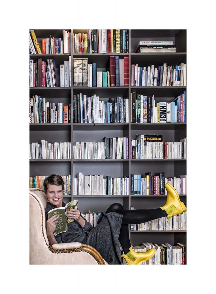Marie Noble, Commissaire générale de la Foire du Livre de Bruxelles: Parce que «les livres ont une incidence sur nos vies en dehors des pages»