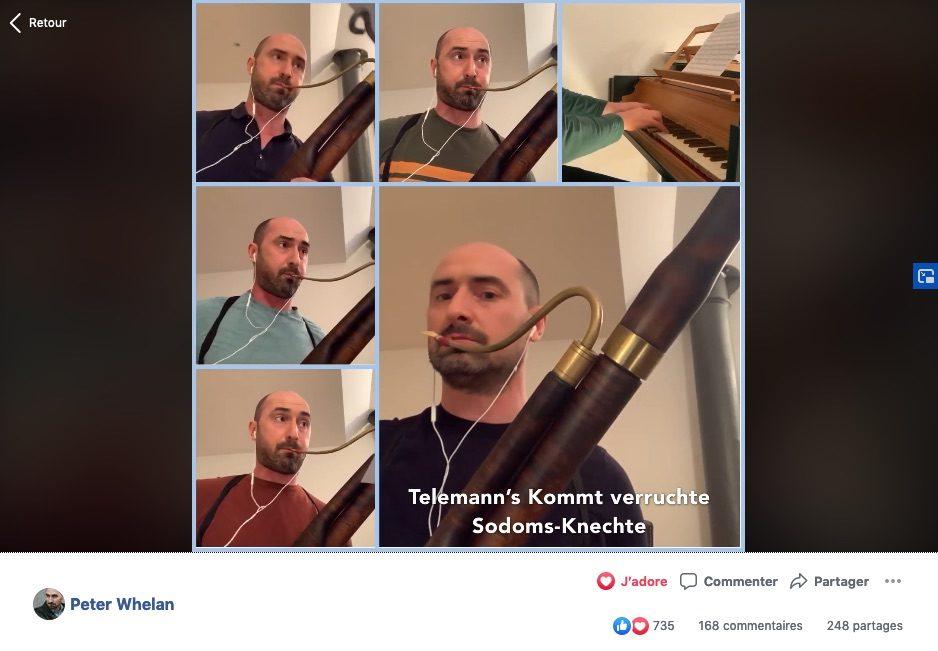 Ces musiciens qui se filment dans leur confinement (3)
