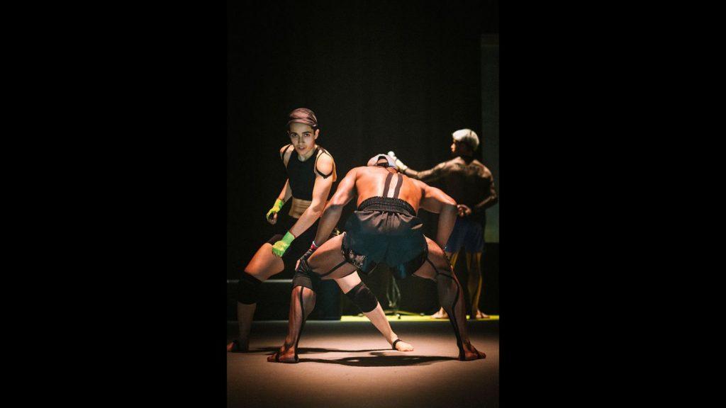 Les «testo dancers» de Marco Da Silva Ferreira touchés par la grâce au Théâtre des Abbesses