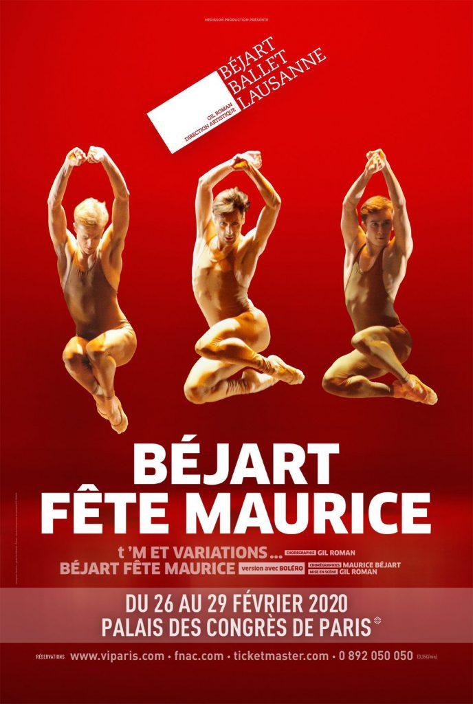 Béjart fête Maurice, l'hommage au Maître