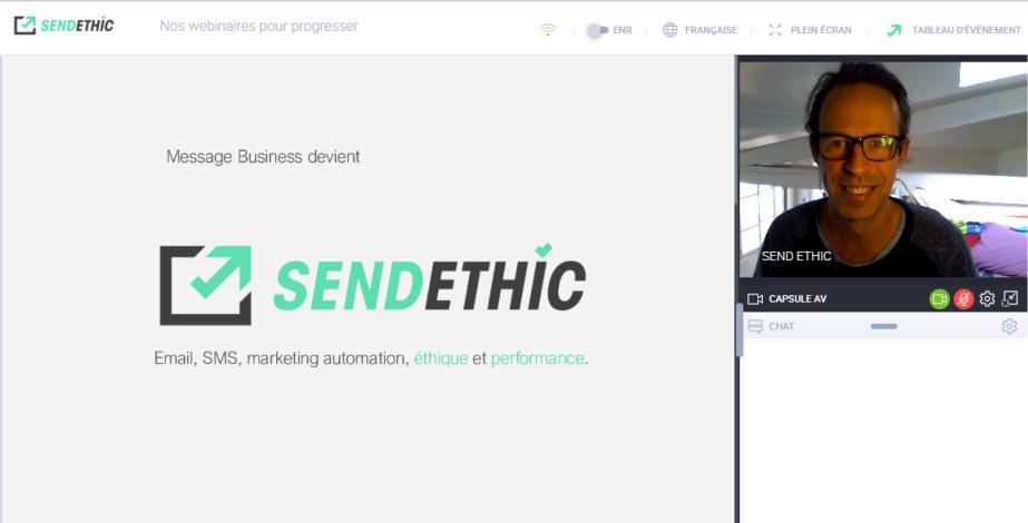 Vincent Fournout nous parle de «Sendethic» une plateforme marketing engagée, qui accompagne de nombreux acteurs, notamment dans la culture