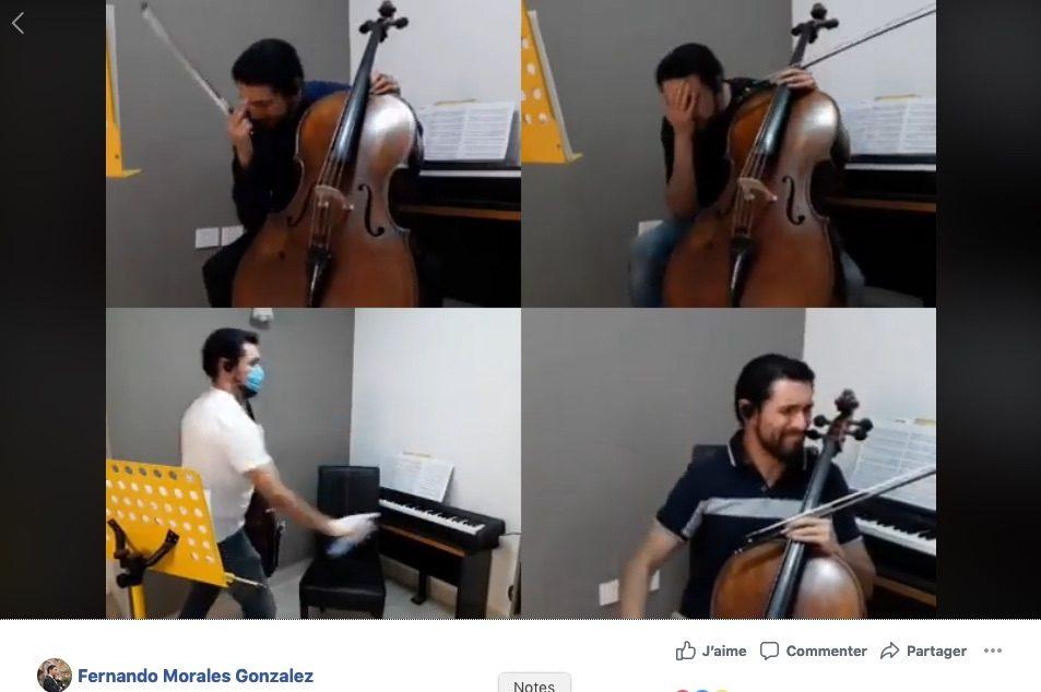 Ces musiciens qui se filment dans leur confinement (44)