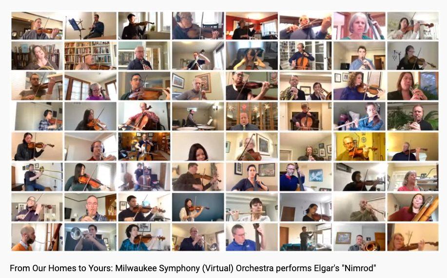 Ces musiciens qui se filment dans leur confinement (43)