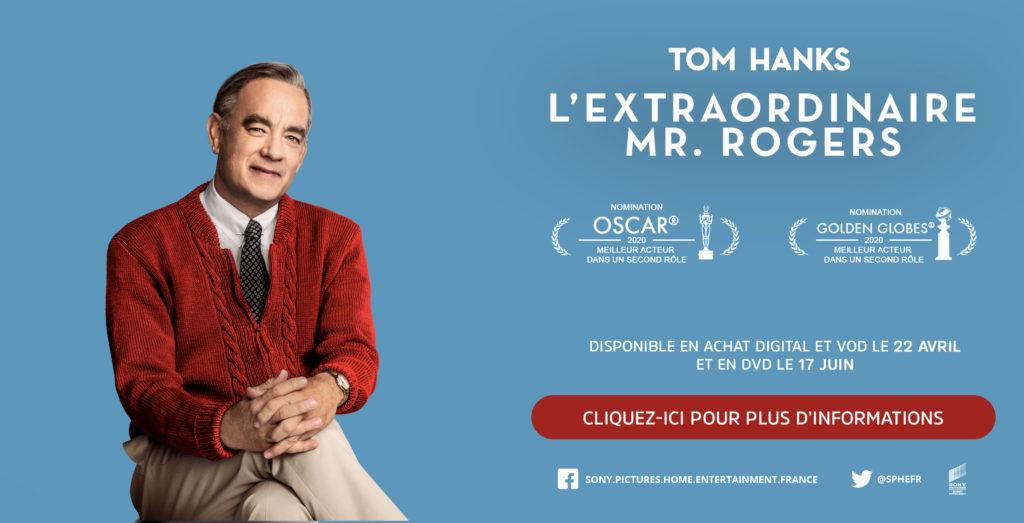 «L'extraordinaire Mr Rogers» incarné par Tom Hanks sort directement en VOD