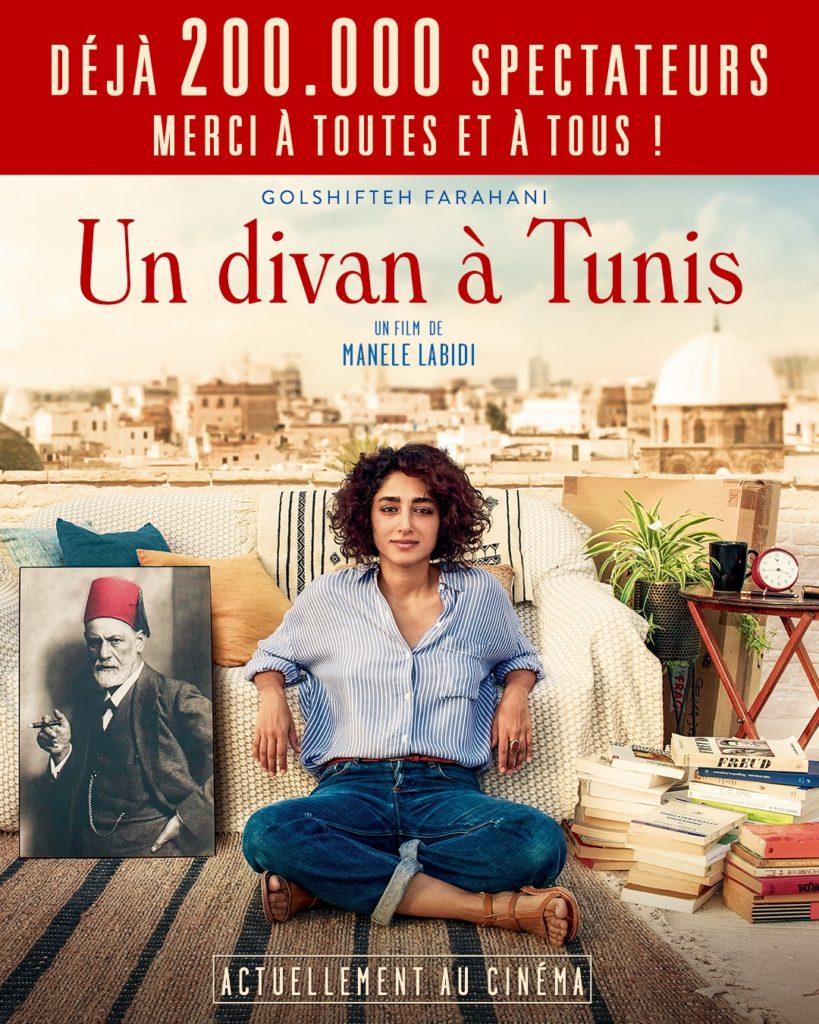 «Un divan à Tunis» un premier film qui fait voyager la psychanalyse dans le sillage de Golshifteh Farahani