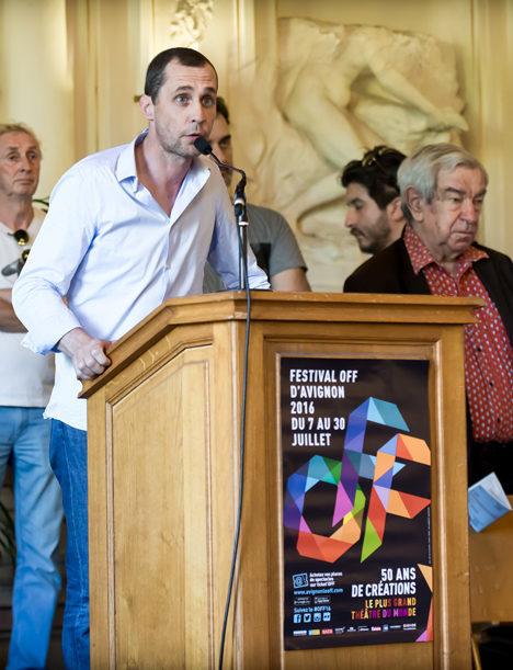 Pierre Beffeyte : «Je n'ai pas le pouvoir d'annuler le Festival Off d'Avignon.»