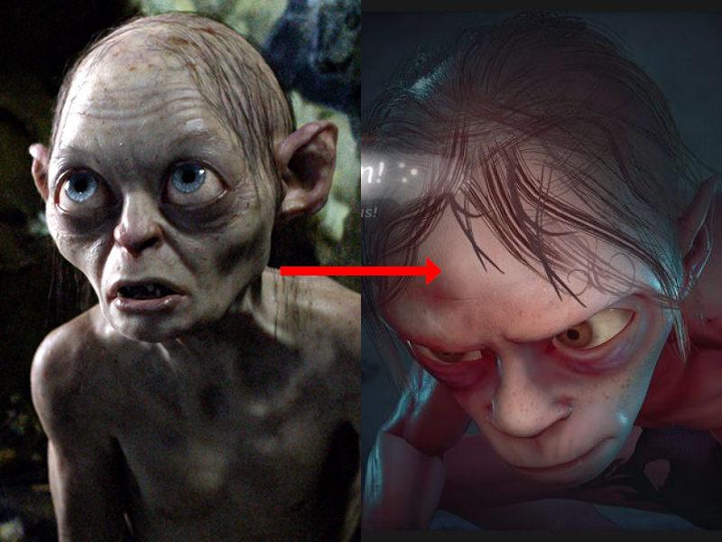 """Gollum, dans les mains d'un studio de jeux-vidéo """"n'est pas beau"""""""