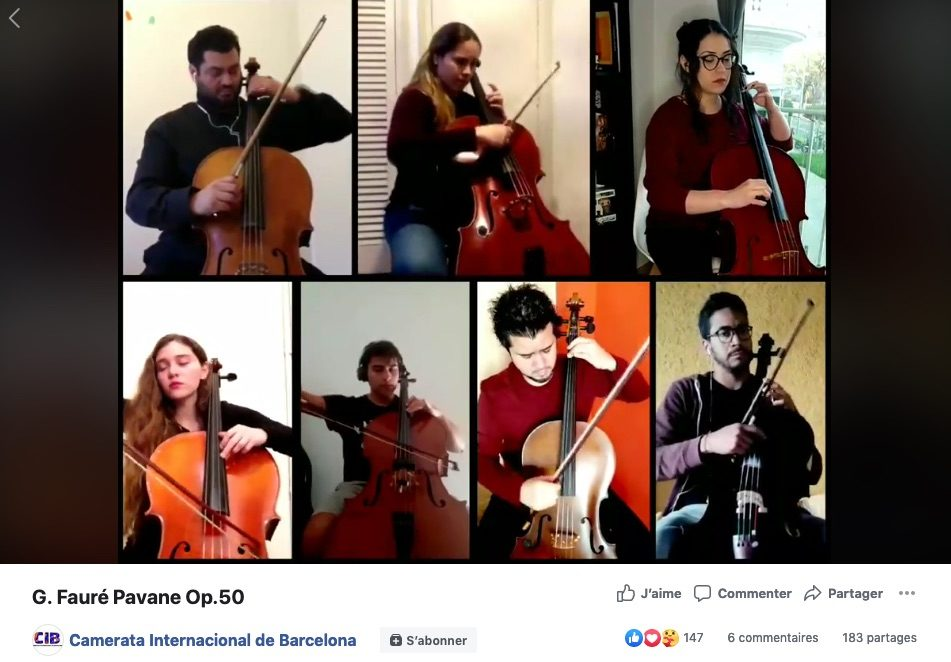 Ces musiciens qui se filment dans leur confinement (50)